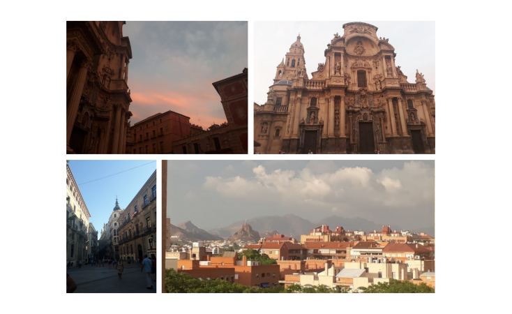 collage of Murcia images